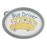 Conductor del autobús escolar - hembra hebilla cinturon oval