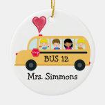 Conductor del autobús escolar - SRF Adorno De Navidad