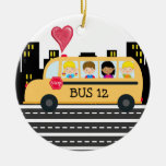 Conductor del autobús escolar - SRF Ornamentos De Navidad