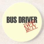 Conductor del autobús FUERA DE SERVICIO Posavasos Diseño
