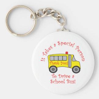 Conductor del autobús llavero