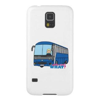 Conductor del autobús - luz/Blonde Funda De Galaxy S5