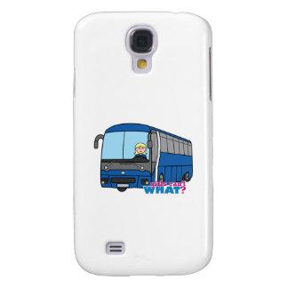 Conductor del autobús - luz/Blonde Funda Para Galaxy S4