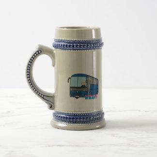Conductor del autobús - luz/Blonde Tazas De Café