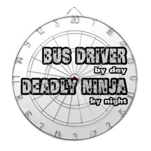Conductor del autobús por el día… muerto Ninja por