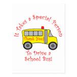 Conductor del autobús postales