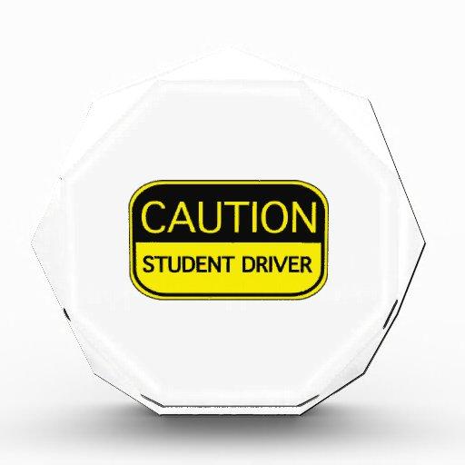 Conductor del estudiante de la precaución
