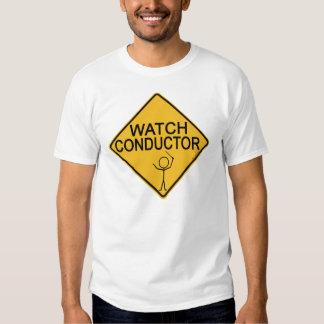 Conductor del reloj camisas