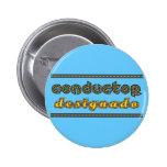 Conductor Designado Botón Pinback Button