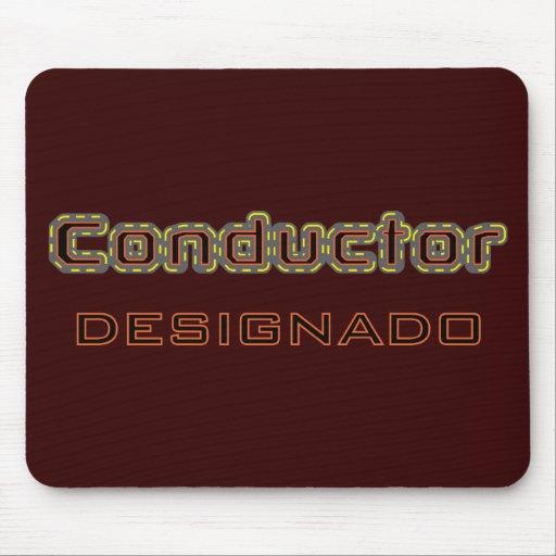 Conductor Designado Mousepad Alfombrilla De Ratones