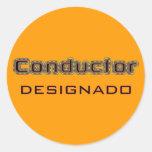Conductor Designado Pegatina