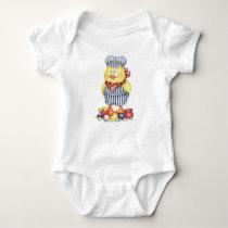 Conductor Duck Baby Bodysuit