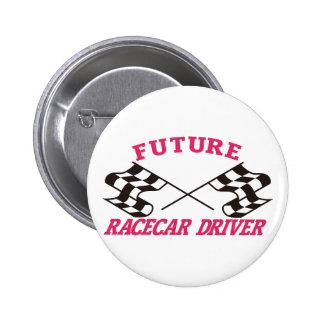 Conductor futuro de Racecar Pin Redondo 5 Cm