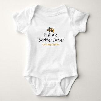 Conductor futuro del peón de arrastre body para bebé