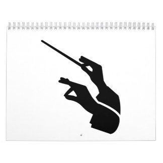 Conductor hands calendar