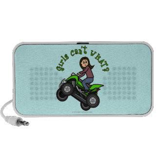 Conductor ligero del coche de cuatro ruedas de la  iPod altavoz
