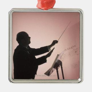 Conductor Metal Ornament