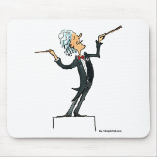 conductor mouse pad