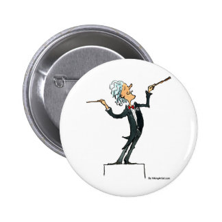 conductor pinback button