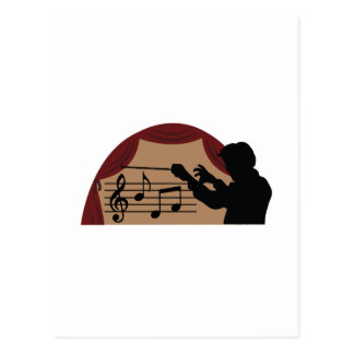 Conductor Postcard