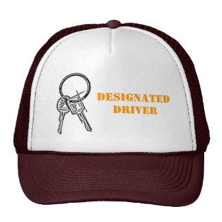 Conductor señalado gorras de camionero