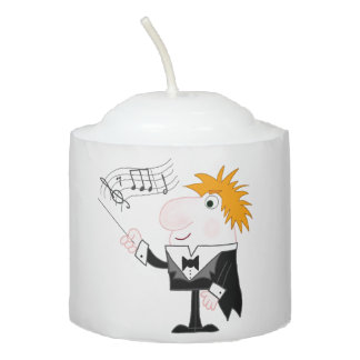 Conductor Votive Candle