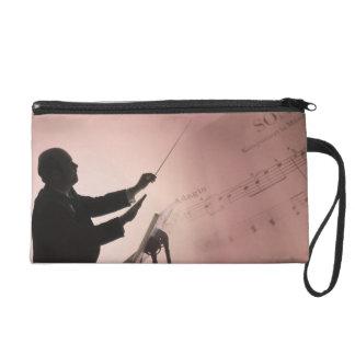 Conductor Wristlet Purse