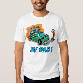 Conductores adolescentes camisas