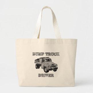 Conductores de camión volquete bolsas
