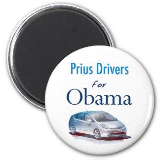 Conductores de Prius para el imán de Obama