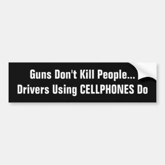 Conductores que usan matanza de los TELÉFONOS Pegatina Para Auto
