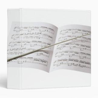 Conductor's Baton 3 Ring Binders