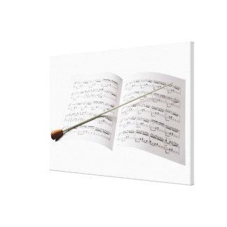 Conductor's Baton Canvas Print