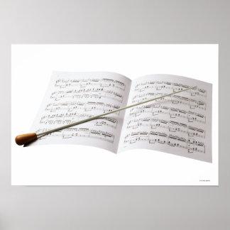 Conductor's Baton Print