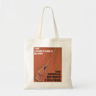 Conductor's Baton Tote Bag