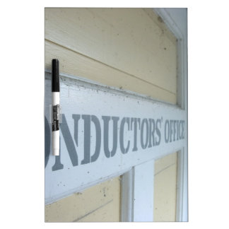 Conductors Office Dry-Erase Board