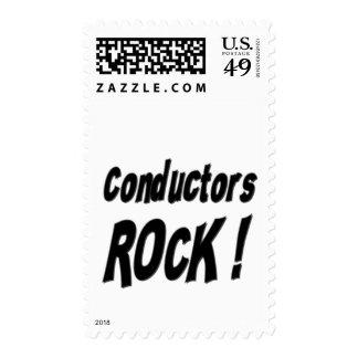Conductors Rock ! Stamp