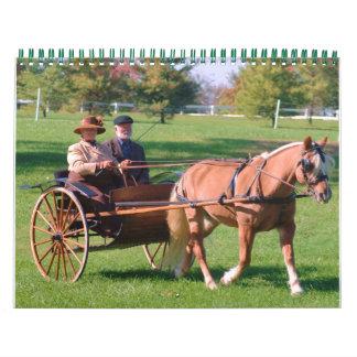 Conduzca el calendario del caballo