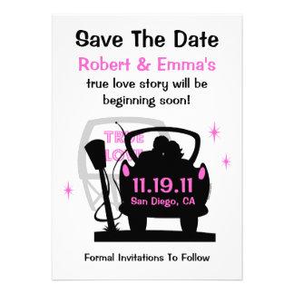 Conduzca en recienes casados ahorran la invitación