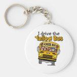 Conduzco el autobús amarillo llavero