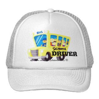 """""""Conduzco el autobús escolar """" Gorras De Camionero"""