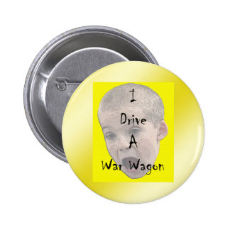 Conduzco un botón del carro de la guerra pins