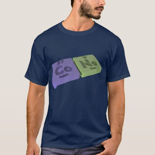 Cone as Co Cobalt and Ne Neon T-Shirt