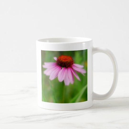 Cone Flower  Abstract Print Coffee Mug