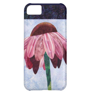 Cone Flower Art Quilt Case For iPhone 5C