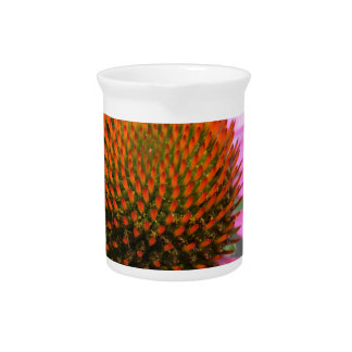 Cone flower drink pitcher