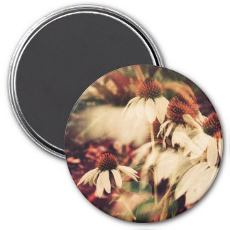 Cone Flowers (Cool Tone) Magnet