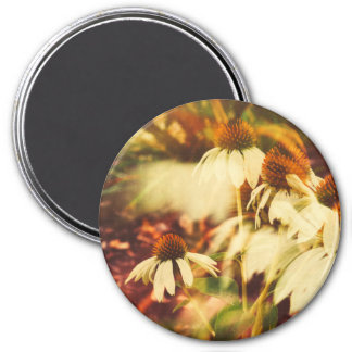 Cone Flowers (Warm Tone) Magnet