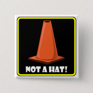 CONE HAT 1a Button