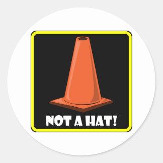 CONE HAT 1a Stickers